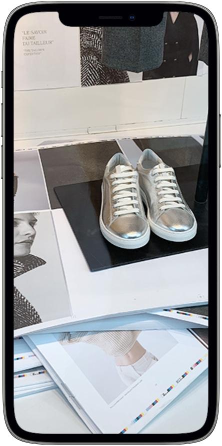 Chaussure Caroll - visuel réalisé par Etude de K